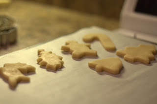 picture of unbaked cookies on parchment paper
