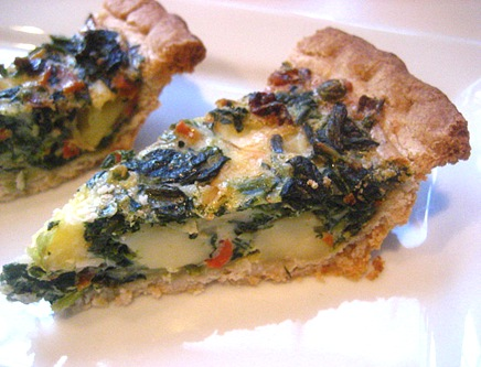 mom's spinach pie
