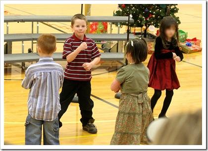 Nathan dancing