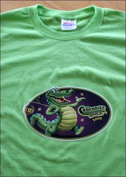 croc dock t-shirt