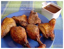 BBQ fried chicken, fast food casero