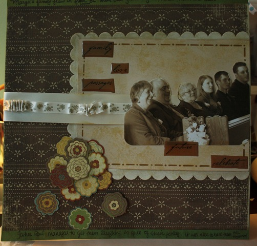 wedding scrapbook ideas layouts