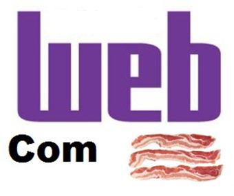 Web com bacon
