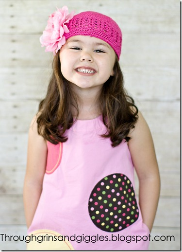 Bella's Bowtique Pink Hat 015web