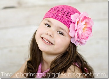 Bella's Bowtique Pink Hat 032web