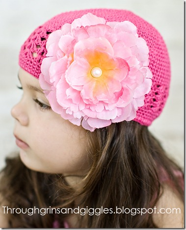 Bella's Bowtique Pink Hat 101web