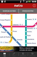 Screenshot of Lisbon Metro | Official App