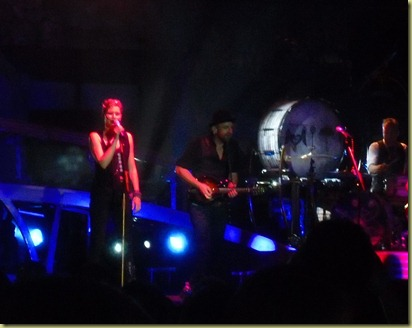 Sugarland on stage.  They were awesome.