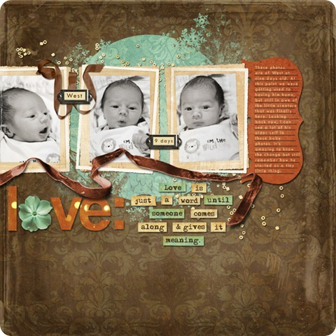 Layout by Laurel Lakey uses: Life Detailed Alphas ScrapSimple Embellishment Templates: Notebook Journal Mats ScrapSimple Tools - Styles: Bokeh 6401 ScrapSimple Embellishment Templates: Photo Masks - Winter Magic ScrapSimple Embellishment Templates: Bead Spill ScrapSimple Embellishment Templates: Ribbon Initials SunKissed Collection Biggie ScrapSimple Embellishment Templates: Velvet Ribbon