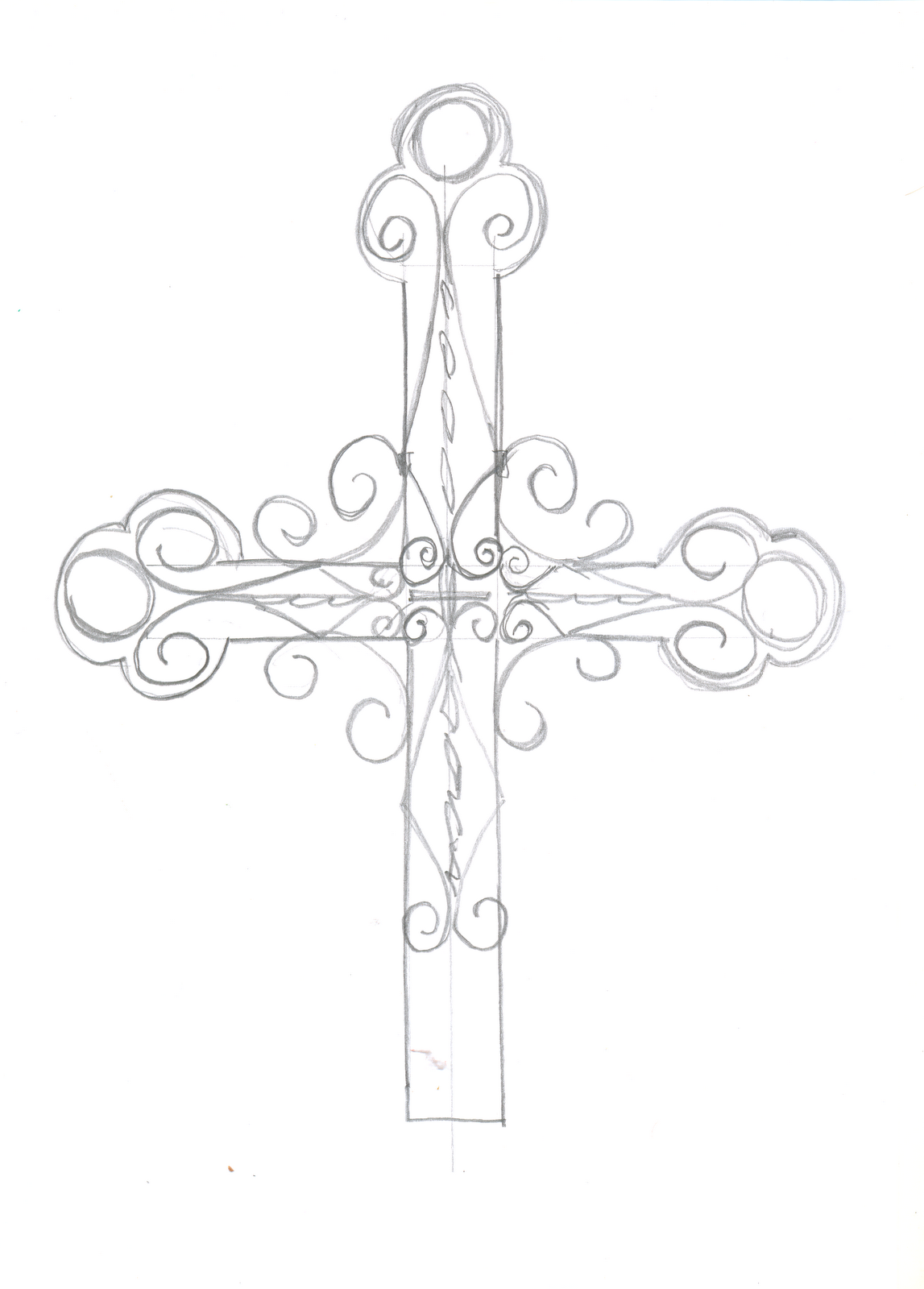 рисунки крестов: