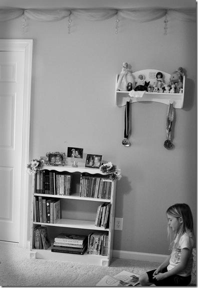 Shelf in Room BW