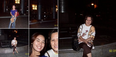 View Snapshots in front of Petron Building