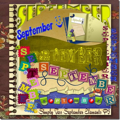 SimplyTess September Elements P3 Preview