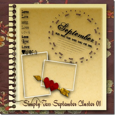 SimplyTess September Cluster Preview