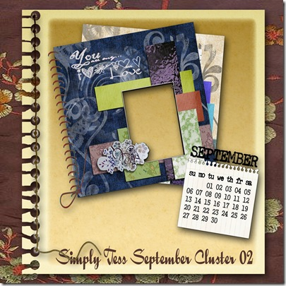SimplyTess September Cluster 02 Preview