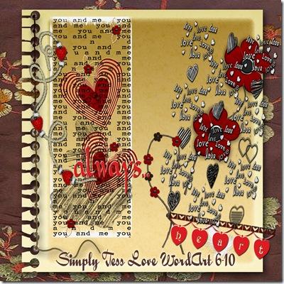 SimplyTess Love WA 6-10