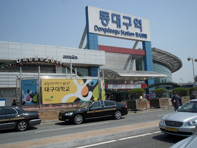 how to get to daegu from seoul