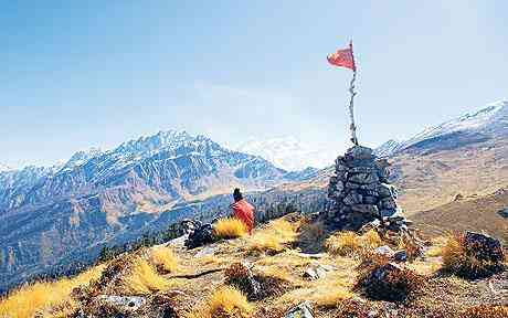 Garhwal Himalayas movement the Curzon Trail