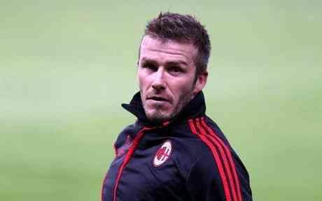 David Beckham won