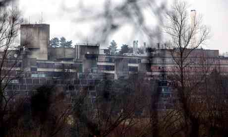 Buildings of the Faculty of Environmental Sciences at the University of East Anglia, UEA, in Norwich