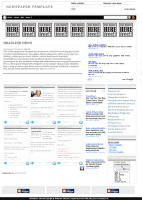 newspaper template - template blogspot free