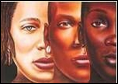 rostos raças