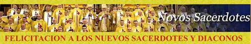 FELICITACIONES NUEVOS SACERDOTES Y DIACONOS HERALDOS DEL EVANGELIO