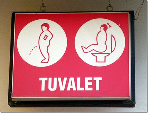 Funny toilet signs around the world (3)