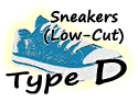 Sneakers Low Cut Button