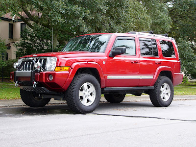 My Jeep Commander as of 17 October 2009.