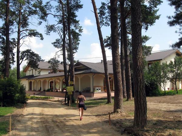 Góra Grabarka - Dom Pielgrzyma w budowie