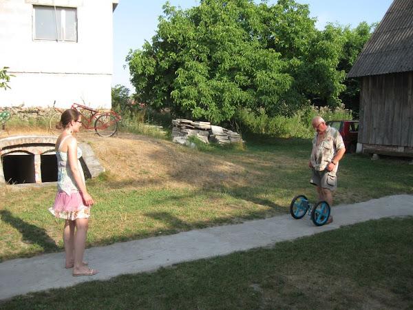 muzeum rowerów gołąb - rower bez ramy