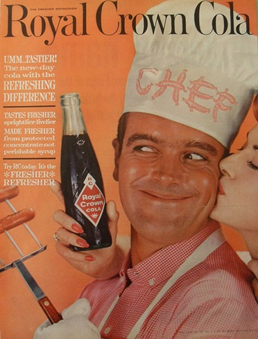 rc cola ad vintage magazine