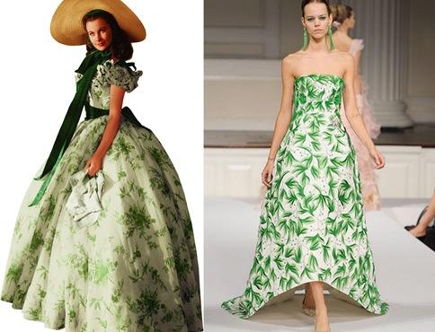 gwtw green dress