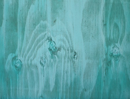 turquoise wood
