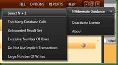 NHProf NHibernate Guidance