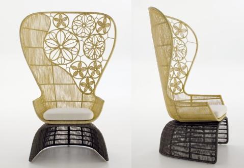 Crinoline Patricia Urquiola Chair