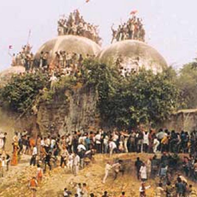 Hindu dapat dua pertiga kawasan sekitar Masjid Babri