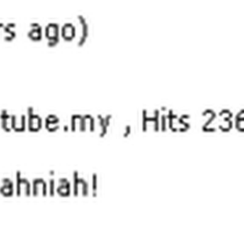 Video BERSANTAI BERSAMA BEN ASHAARI pecah rekod 1TUBE.My !