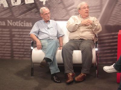 Sr. Wilson Martins e Dr. José César Junqueira
