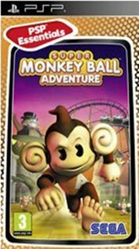 Super Monkey Ball Adventure Essentials (PSP)