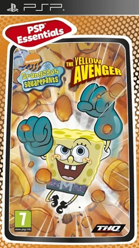 Spongebob Squarepants The Yellow Avenger (PSP)