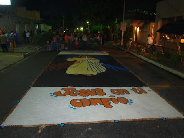 Las alfombras de Semana Santa 2010 – Hunnapuh – Comentarios
