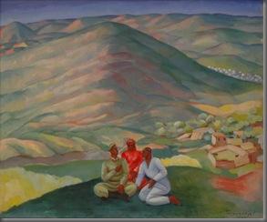 Ural Tansykbayev: In Their Native Village (1933)