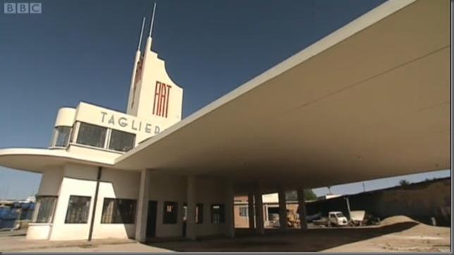 Pettazzi's Fiat Petrol Station in Asmara