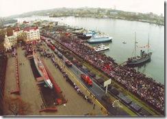 Парад к Дню Победы на Корабельной набережной
