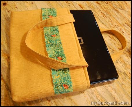 fabric laptop bag
