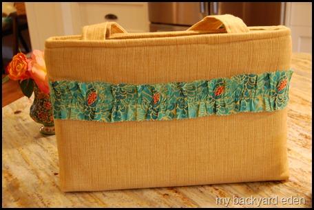 fabric laptop bag tutorial