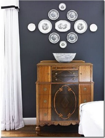 Plate Wall by Courtney Giles