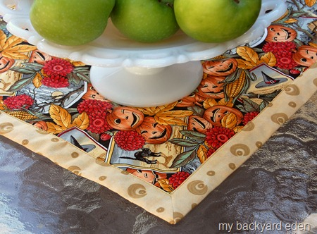 Easy Holiday Placemats